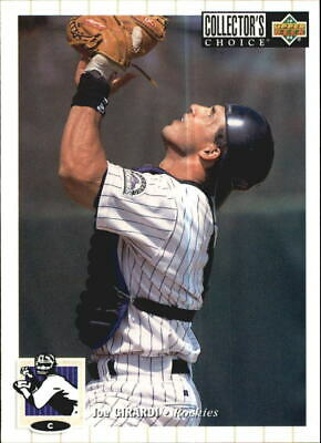 1994 Collectors Choice Baseball Card 396 Joe Girardi