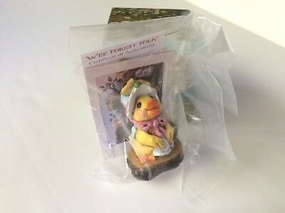 Wee Forest Folk D-1s  MISS DUCKY from Forget-Me-Not Series #152/280 -  BRAND NEW