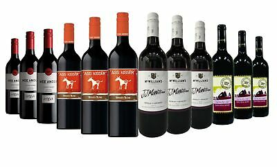 Summer Varietal Red Wine Blend Mixed Case 12x750ml RRP$299 Free Shipping