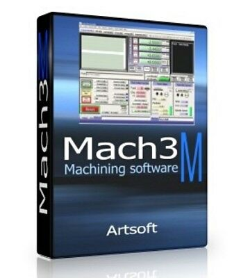 Artsoft Mach3 - Engraving Control CNC Machines / Steppers **5 Device License**