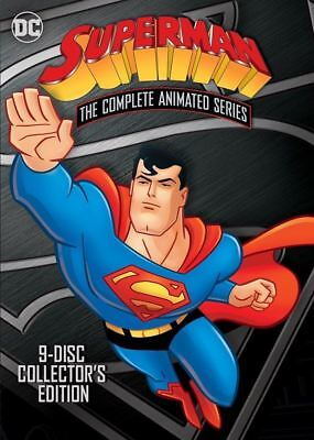 Superman: The Complete Animated Series [DVD] 9 Disc Collector's Edition