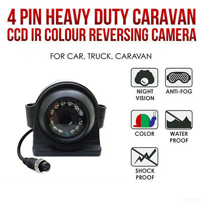 Waterproof HD Night Vision Car Camera Side/Rear View Camera For Most Cars 12/24V