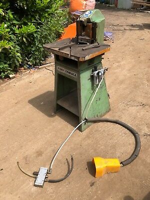 Metalworking, fabrication Comaca P130/3 corner notcher with pedal control
