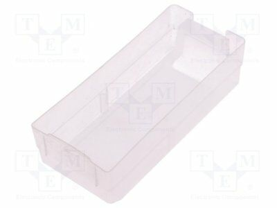 Container: drawer; 54x130x36mm; Drawer colour: transparent [1 pcs]