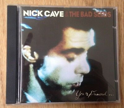 Nick Cave And The Bad Seeds Your Funeral... My Trial CD Mute Records CDStumm34