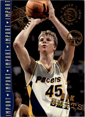 2be0701641c4 1994-95 Stadium Club Members Only Parallel Basketball Card  255 Rik Smits AI