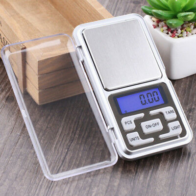 0.01g Small Digital Jewelry Scale Mini Pocket Balance Weighing Micro Lcd Weight
