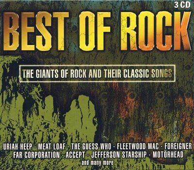 Best Of Rock (3xCD) Uriah Heap Small Faces Fleetwood Mac Atomic Rooster Chicago