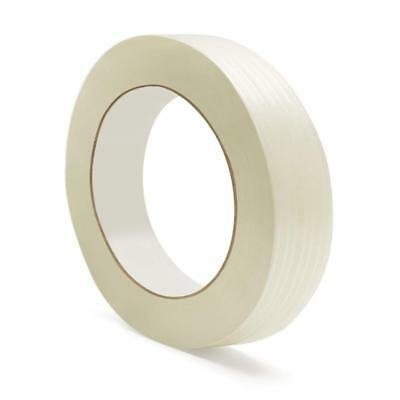 "Economy Filament Strapping Tape 4 Mil 1/2"" x 60 Yds Reinforced Tapes 504 Rolls"