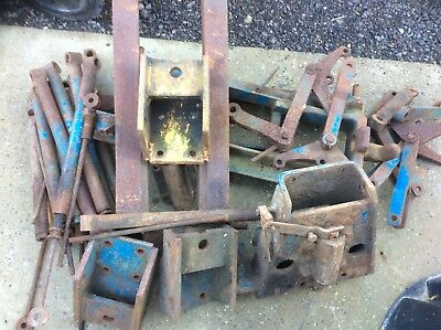 Ford 5000 / 7000 County Doe Roadless Tractor Pick Hitches Parts
