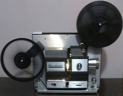 Bell & Howell 456 A Super 8 / Standard 8mm Movie Projector in BOX ~Serviced~