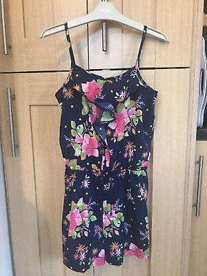 Next Girls Playsuit Age 11 Years Excellent Condition