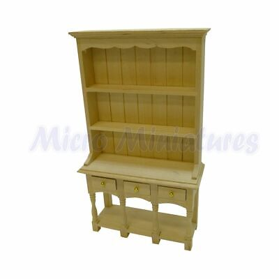 Dolls House Tudor Dresser 1/12th Scale (00474)