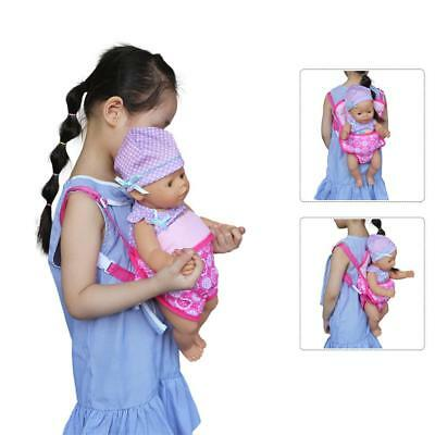 18 In Children Backpack Doll Carrier Sleeping Bag For Girl Clothes American GIFT