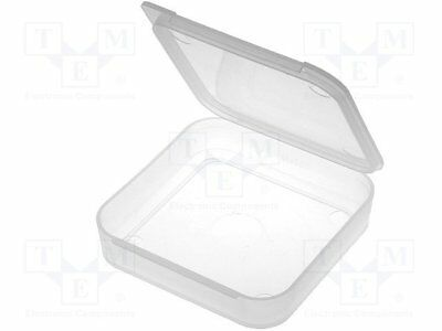 Container: box; 70x70x13mm; polypropylene [1 pcs]