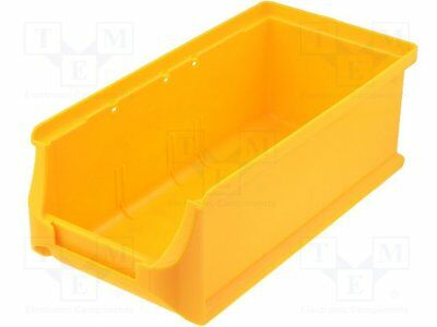 Container: workshop; 102x215x75mm; yellow; plastic [1 pcs]