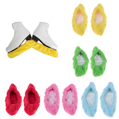Sports Figure Ice Skate Blade Covers Soaker Guard Protector for Adult & Kids