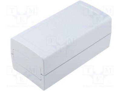 Enclosure: with panel; X:60mm; Y:120mm; Z:51mm; ABS; grey; IP53 [1 pcs]