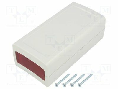 Enclosure: with panel; X:60mm; Y:120mm; Z:40mm; ABS; grey; IP53 [1 pcs]