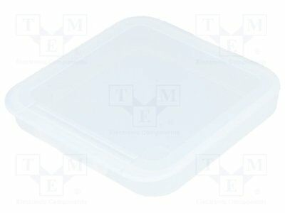 Container: box; 105x105x13mm; polypropylene [1 pcs]