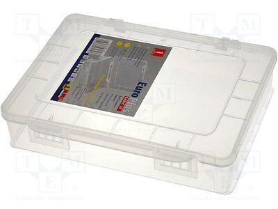 Container: box; 180x149x40mm; white; polypropylene [1 pcs]