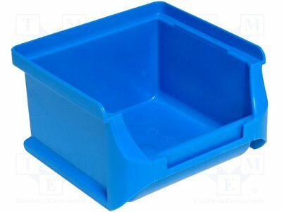 Container: workshop; 102x100x60mm; blue; plastic [3 pcs]
