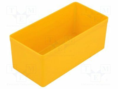 Container: for boxes; 54x108x45mm; yellow; polystyrene [5 pcs]