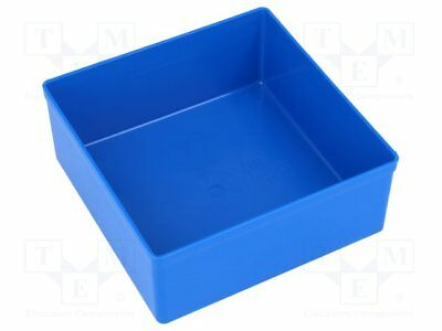 Container: for boxes; 108x108x45mm; blue; polystyrene [5 pcs]