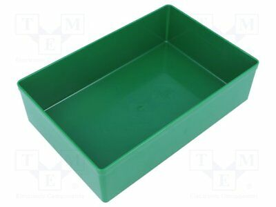 Container: for boxes; 108x162x45mm; green; polystyrene [5 pcs]