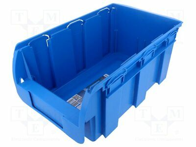 Container: workshop; blue; plastic; 210x350x150mm [1 pcs]