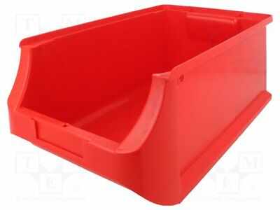Container: workshop; 204x350x150mm; red; plastic [1 pcs]