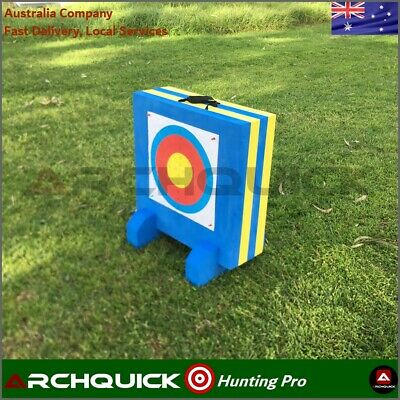 Archery Target 3D High Density Foam 60x60x20cm Compound & Recurve Bows Practice