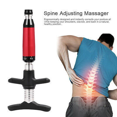 Portable Massage Chiropractic Adjusting Tool Spine Activator 6 Level Single Head