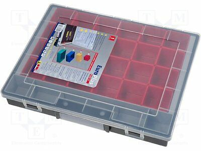 Container: box with containers; 370x290x55mm; black [1 pcs]
