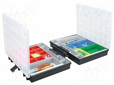 Container: box with containers; 370x295x112mm; black [1 pcs]