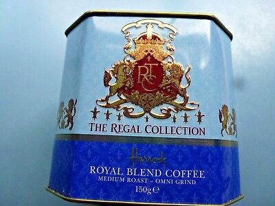 UK HARRODS Regal Collection  The Regal Collection Royal Blend Coffee 150g