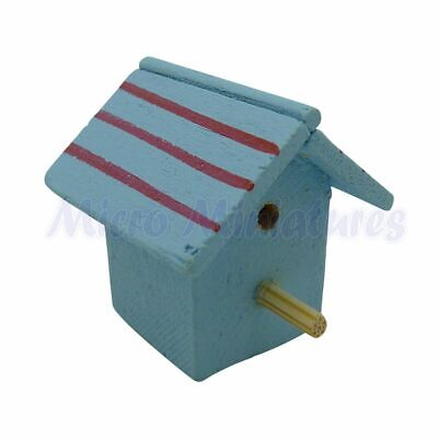 Dolls House Wooden Bird Box 1/12th Scale (00725)