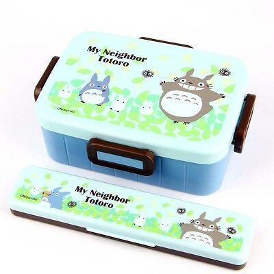 TOTORO Lunch Box Set GHIBLI Bento Made in Japan Food Container Official
