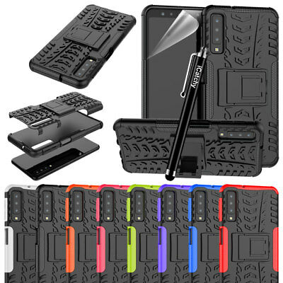 For Samsung Galaxy A7 / A7 2018 Case, Heavy Duty Armour ShockProof Builder Cover
