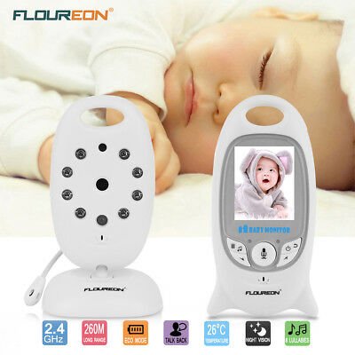 Wireless Pet Baby Monitor IP Camera Home Video Security 2-Way Talk Night Vision
