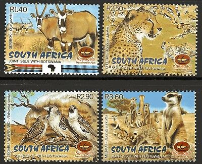 South Africa 2001 Joint Issue With Botswana set of 4 Mint Unhinged