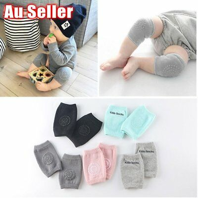 Baby Knee Pad Newborn Kid Safety Soft Breathable Crawling Elbow Cotton Protect L