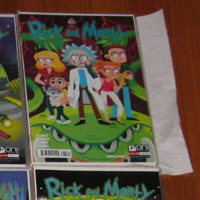 Rick and Morty Unread Comic Book Lot Variants (10 books) NM