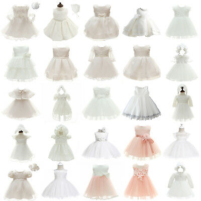 Baby Girl Party Wedding Baptism Christening Fomal Dress Gowns for Infant/Toddler