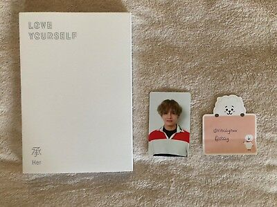 BTS - Love Yourself: Her Album V Version mit V / Taehyung Photocard