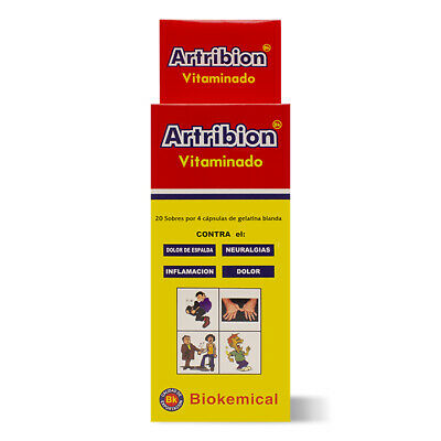 ARTRIBION VITAMINADO 1 DISPLAY 20 Packs x 4 Pills *** ORIGINAL***