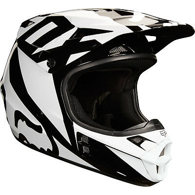 Fox - V1 Race Black Helmet - 2X-Large