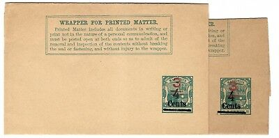 G49 Mauritius Maurice  stationery ps newspaper wrappers variety ganzsachen