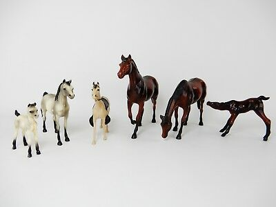 Vintage 1961 Hartland Horses Lot Of 6