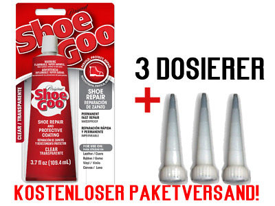 Shoe-Goo Skateboardzubehör Shoe Goo / Original Shoe Goo Clear Transparent 29,5ml